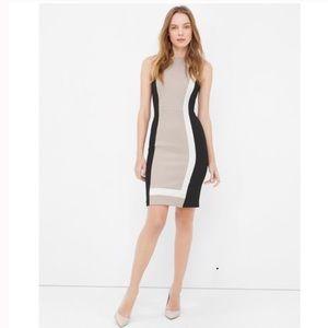 Black House White Market Colorblock Dress
